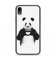 Coque en silicone Apple iPhone XR - BS Love Panda