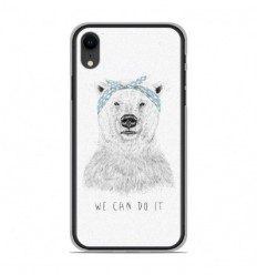 Coque en silicone Apple iPhone XR - BS We can do it