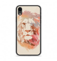 Coque en silicone Apple iPhone XR - RF Desert Lion