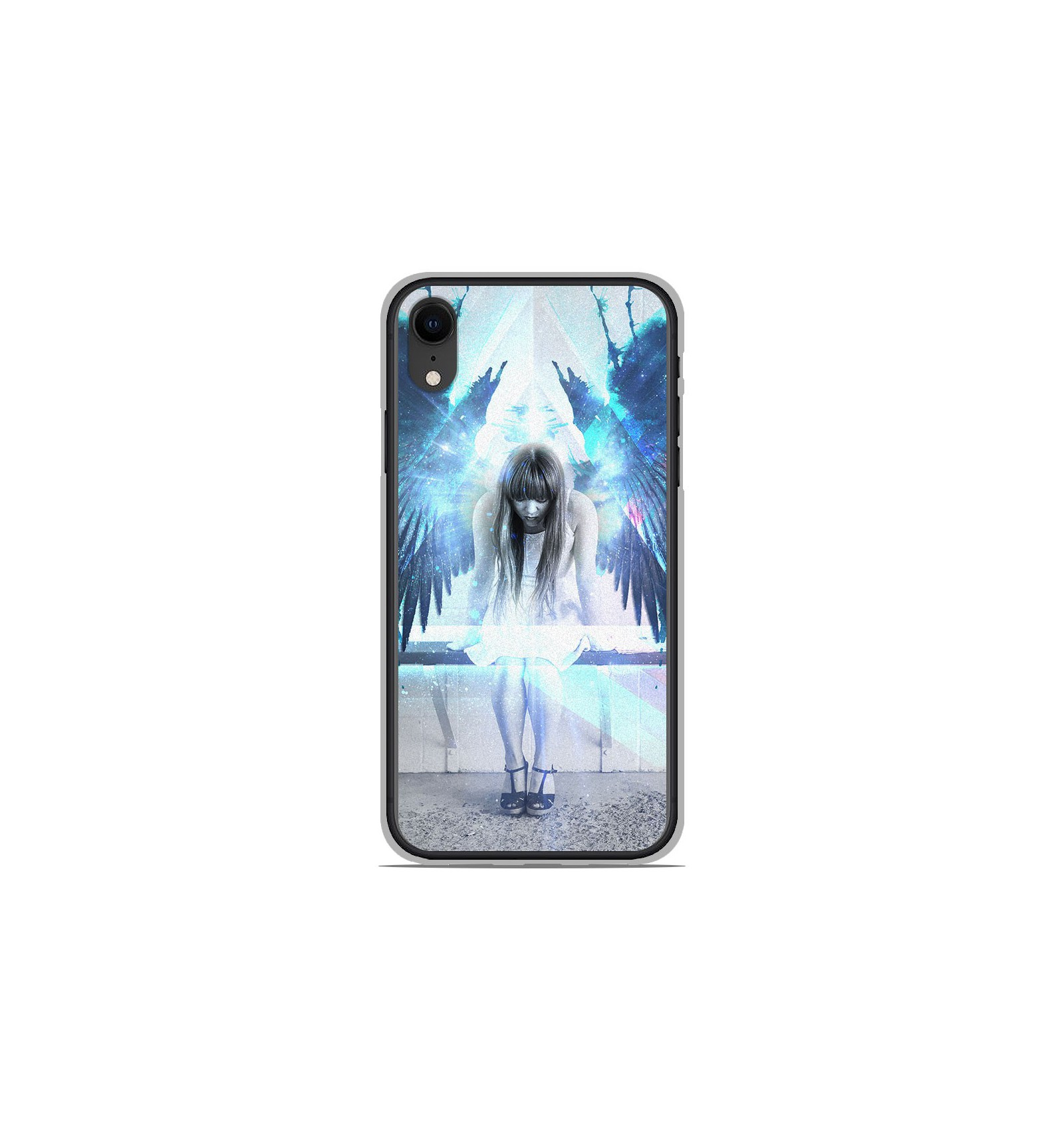 coque iphone xr angele