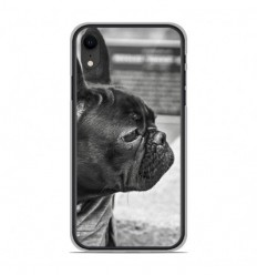 Coque en silicone Apple iPhone XR - Bulldog