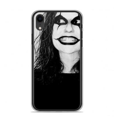 Coque en silicone Apple iPhone XR - Crow