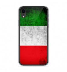 Coque en silicone Apple iPhone XR - Drapeau Italie