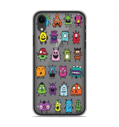 Coque en silicone Apple iPhone XR - Alien
