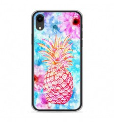 Coque en silicone Apple iPhone XR - Ananas