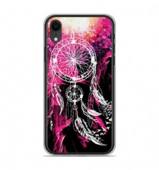 Coque en silicone Apple iPhone XR - Dreamcatcher Rose