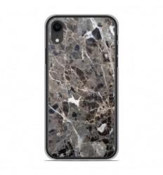Coque en silicone Apple iPhone XR - Marbre