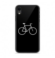 Coque en silicone Apple iPhone XR - Bike Hipster
