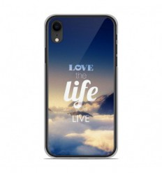 Coque en silicone Apple iPhone XR - Citation 06