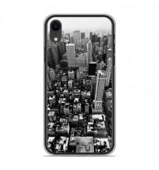 Coque en silicone Apple iPhone XR - City