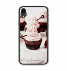 Coque en silicone Apple iPhone XR - Cup Cake