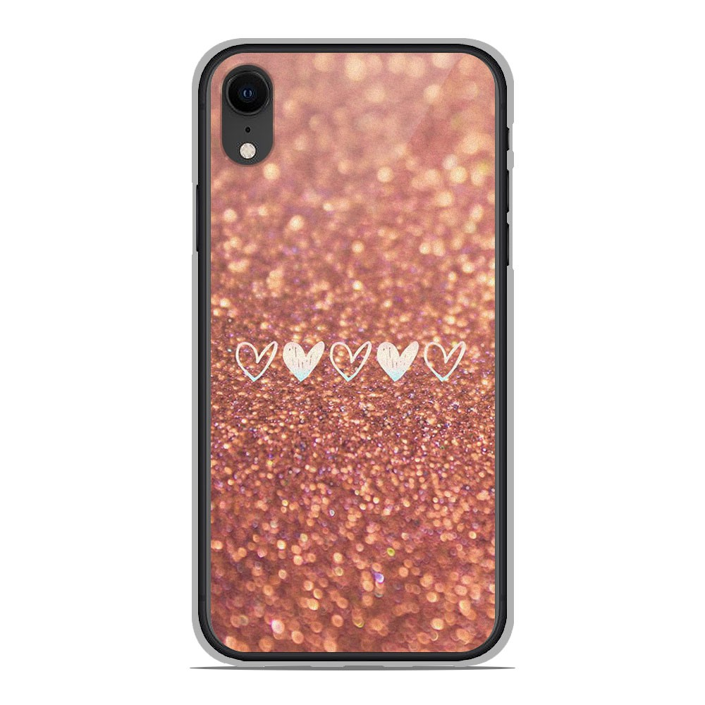 coque silicone iphone xr paillette