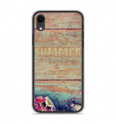 Coque en silicone Apple iPhone XR - The best summer