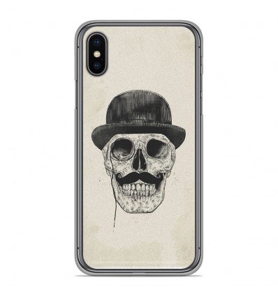 Coque en silicone Apple iPhone XS Max - BS Class skull