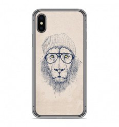 Coque en silicone Apple iPhone XS Max - BS Cool Lion