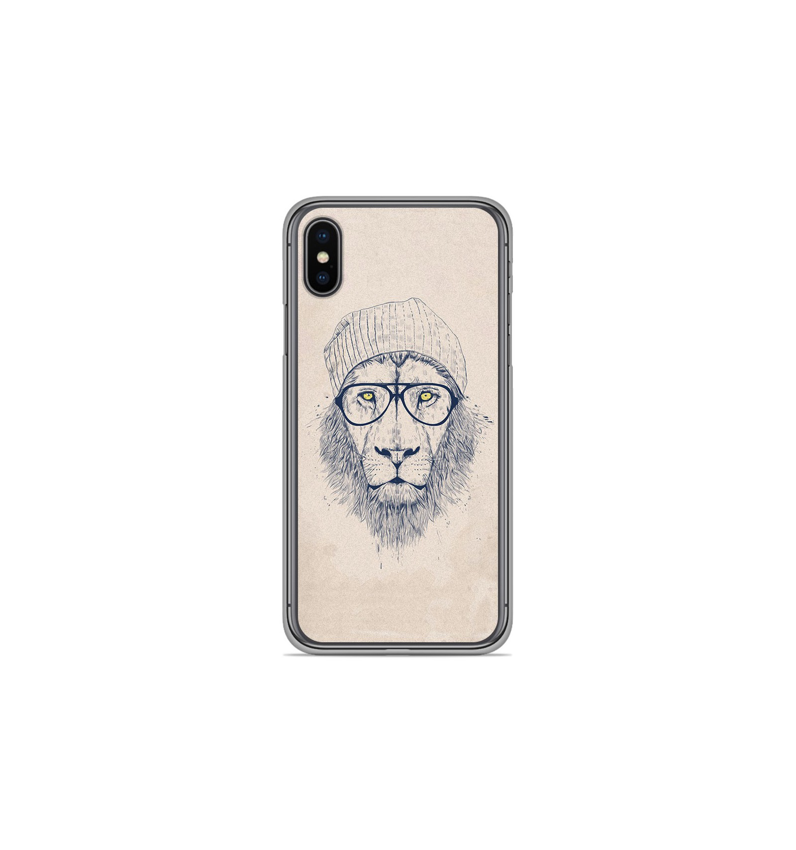 coque iphone xs lion