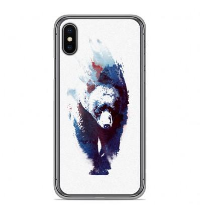 Coque en silicone Apple iPhone XS Max - RF Death Run
