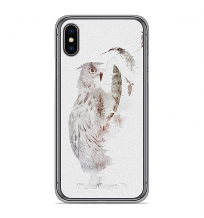 Coque en silicone Apple iPhone XS Max - RF Fade Out