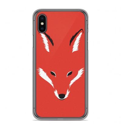 Coque en silicone Apple iPhone XS Max - RF Foxy Shape