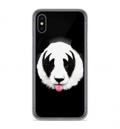 Coque en silicone Apple iPhone XS Max - RF Kiss Of Panda