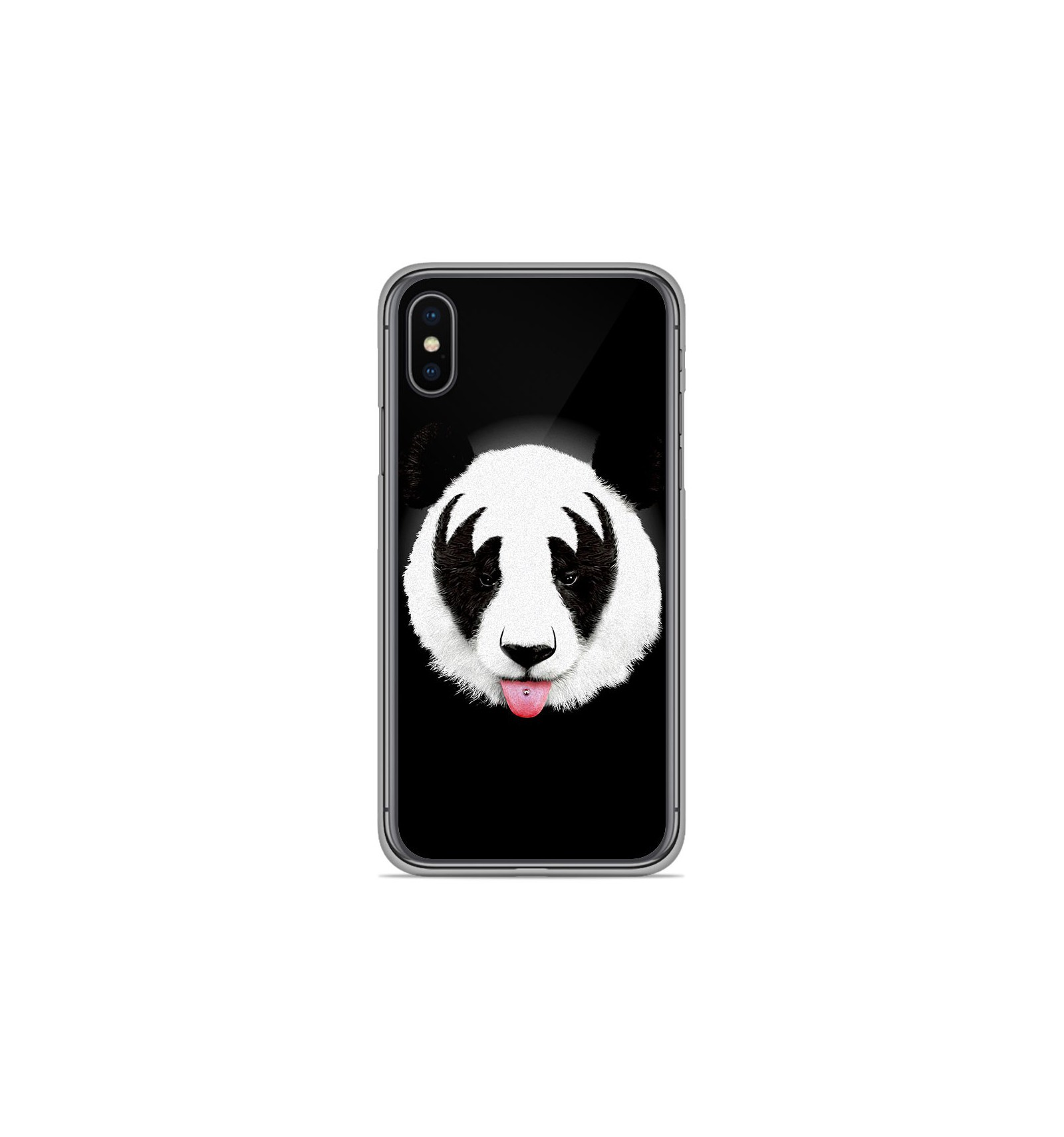 coque silicone iphone xs panda