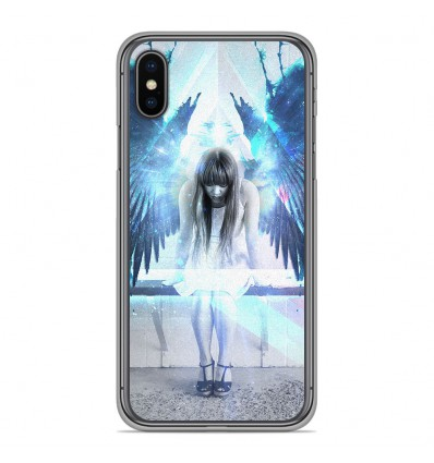 Coque en silicone Apple iPhone XS Max - Angel