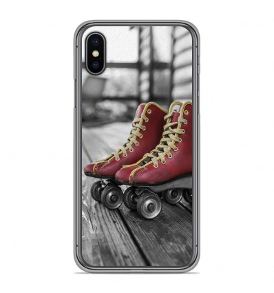 Coque en silicone Apple iPhone XS Max - Roller