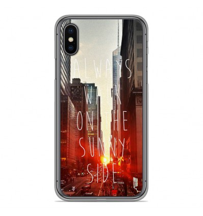 Coque en silicone Apple iPhone XS Max - Sunny side