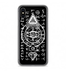 Coque en silicone Apple iPhone XS Max - Esoteric