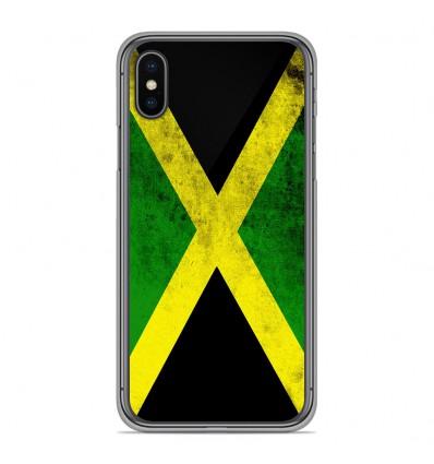 Coque en silicone Apple iPhone XS Max - Drapeau Jamaïque