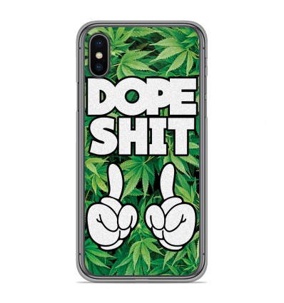 Coque en silicone Apple iPhone XS Max - Dope Shit