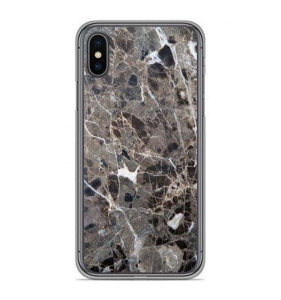 Coque en silicone Apple iPhone XS Max - Marbre