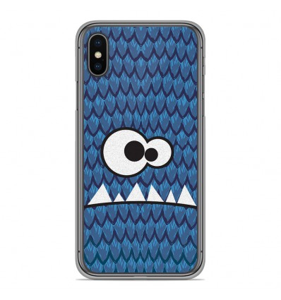 Coque en silicone Apple iPhone XS Max - Monster