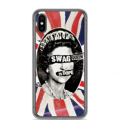 Coque en silicone Apple iPhone XS Max - Swag Queen
