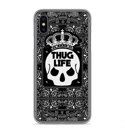 Coque en silicone Apple iPhone XS Max - Thuglife