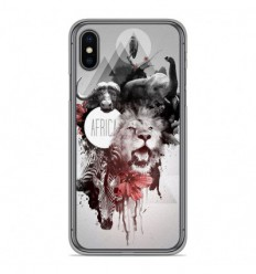 Coque en silicone Apple iPhone XS Max - Africa Swag