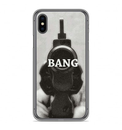 Coque en silicone Apple iPhone XS Max - Bang