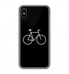 Coque en silicone Apple iPhone XS Max - Bike Hipster