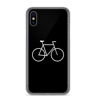 Coque en silicone pour Apple iPhone XS Max - Bike Hipster