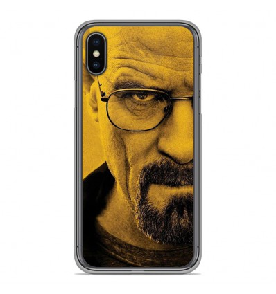 Coque en silicone Apple iPhone XS Max - Breaking Bad