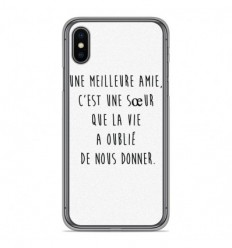 Coque en silicone Apple iPhone XS Max - Citation 04