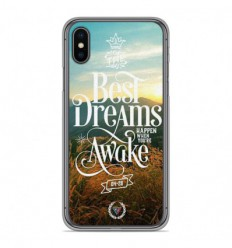 Coque en silicone Apple iPhone XS Max - Citation 07