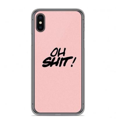 Coque en silicone pour Apple iPhone XS Max - Citation 10