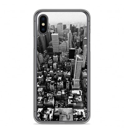 Coque en silicone Apple iPhone XS Max - City