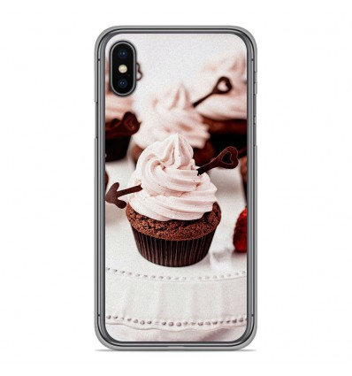 Coque en silicone pour Apple iPhone XS Max - Cup Cake