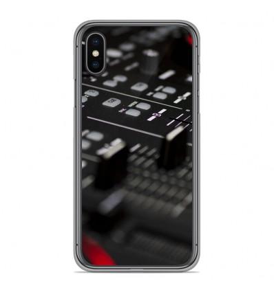 Coque en silicone Apple iPhone XS Max - Dj Mixer