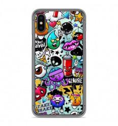 Coque en silicone Apple iPhone XS Max - Graffiti 2