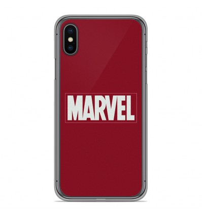 Coque en silicone Apple iPhone XS Max - Marvel