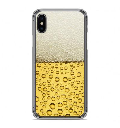 Coque en silicone pour Apple iPhone XS Max - Pression