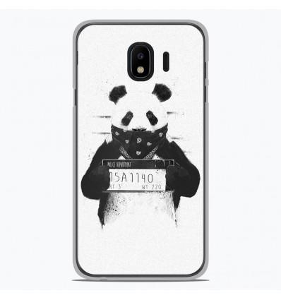 Coque en silicone Samsung Galaxy J4 2018 - BS Bad Panda